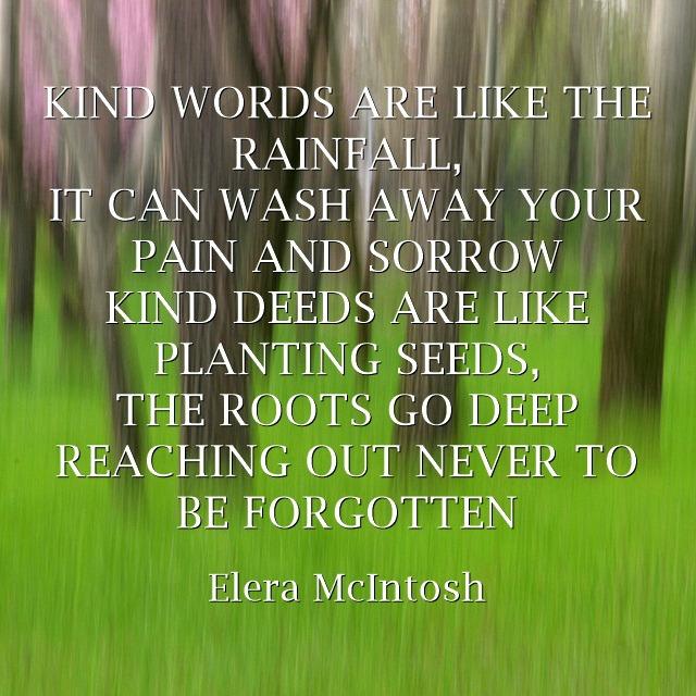 Words & Deeds